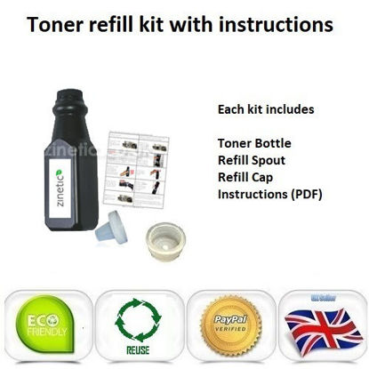 Picture of Compatible Black Brother TN-1050 Toner Refill