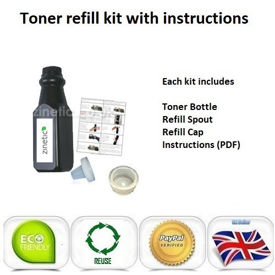Compatible High Capacity Black Brother TN-2220 Toner Refill
