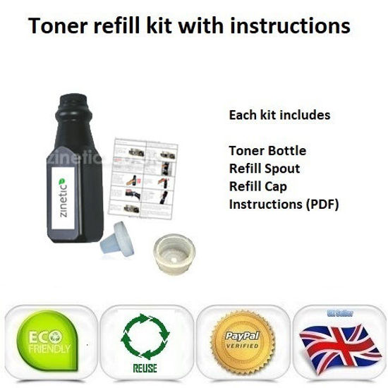 Picture of Compatible High Capacity Black Brother TN-2220 Toner Refill