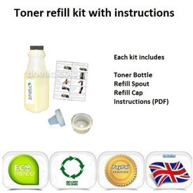 Compatible Yellow Brother TN-230Y Toner Refill