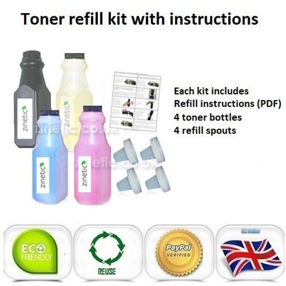 Picture of Compatible 4 Colour Brother TN-241 & TN-245 Toner Refill Multipack