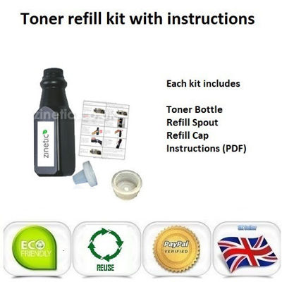 Compatible High Capacity Black Brother TN-3480 Toner Refill