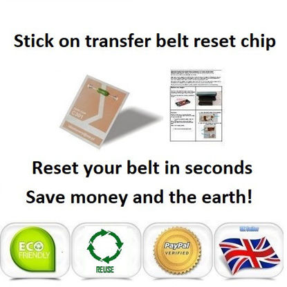 Picture of iColor 600 Transfer Belt Reset Chip