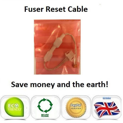 Picture of OKI C9650 Fuser Reset Cable