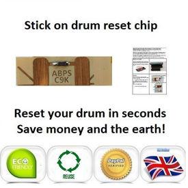 OKI C9655 Drum Reset Chip