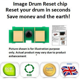 Picture of Xerox Workcentre 013R00658 Yellow Drum Reset Chip
