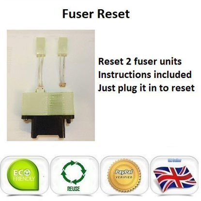 Picture of OKI C822 Fuser Unit Reset Plug