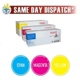 Compatible 3 Colour Ricoh 40754 Toner Cartridge Multipack
