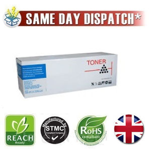 Picture of Compatible High Capacity Cyan Oki 43459331 Toner Cartridge
