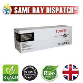 Picture of Compatible High Capacity Black OKI 01240001 Toner Cartridge