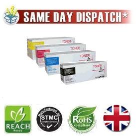 Compatible 4 Colour 43112702 C/M/Y/K OKI Toner Cartridges Multipack Pack