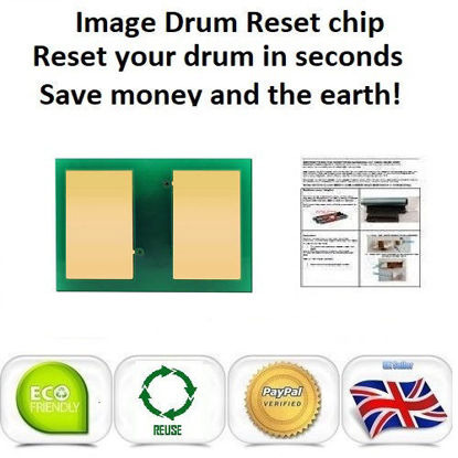 HP Color Laserjet CP6015 CM6030  CM6040 Drum Unit Reset Chip