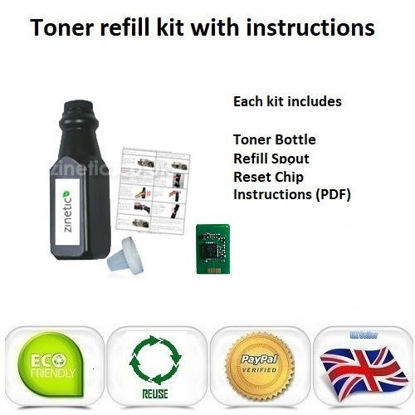 Picture of OKI C9655 Toner Refill Black