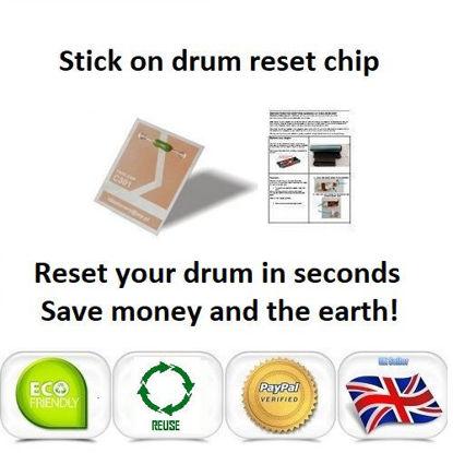 Picture of Oki Pro7411wt Drum Reset Chip