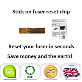 Oki Pro7411wt Fuser Unit Reset Chip