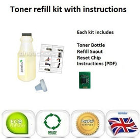 OKI C301 Toner Refill Yellow