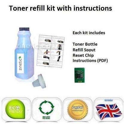 OKI C810 Toner Refill Cyan