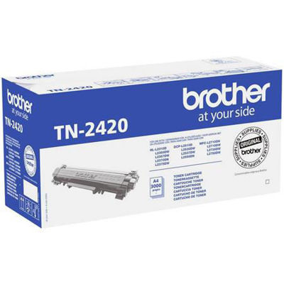 Brother TN-2420 High Capacity Black Toner Cartridge Orginal