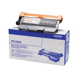 Original High Capacity Black Brother TN-2220 Toner Cartridge