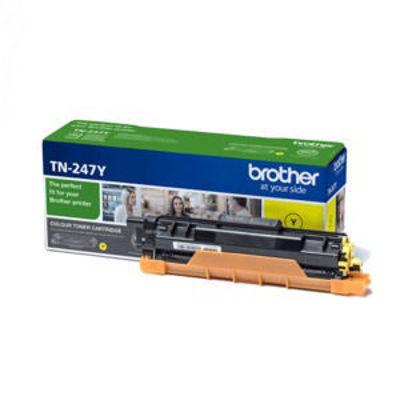Original High Capacity Yellow Brother TN-247Y Toner Cartridge