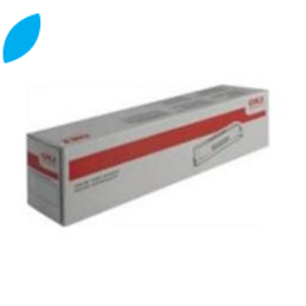 Original Cyan OKI 43872307 Toner Cartridge