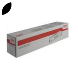Original Oki Type C6 Black Toner Cartridge