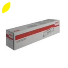 Original Yellow Oki 43837129 Toner Cartridge