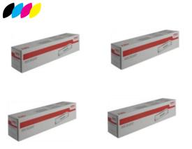 Original 4 Colour OKI 4497353 Toner Cartridge Multipack