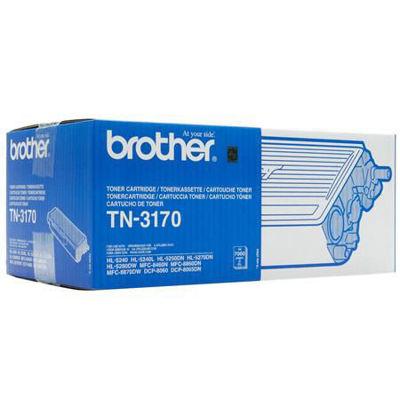 Brother TN-3170 High Capacity Black Toner Cartridge Orginal